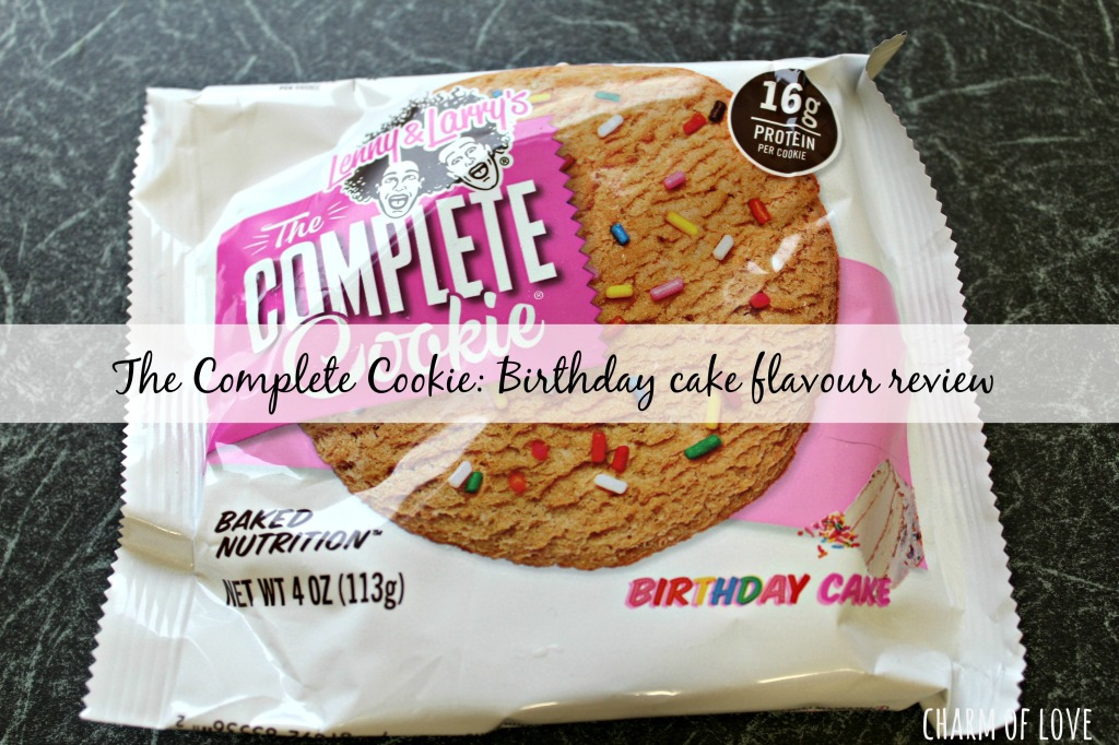 Lenny Larrys Birthday Cake Cookie Review