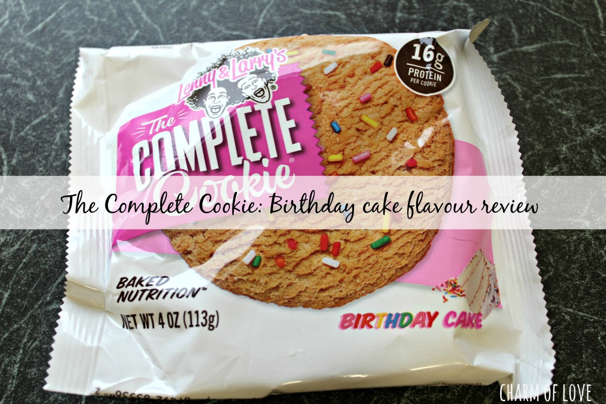 Lenny & Larry's birthday cake cookie review – Charm of Love