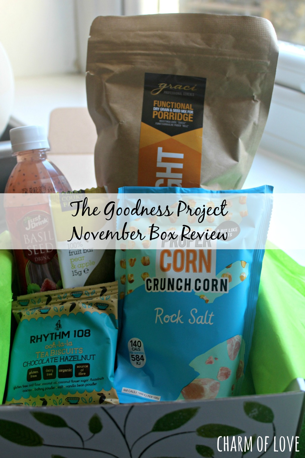 The Goodness Project November (and October) Box Review – Charm of Love