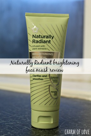 Naturally Radiant Brightening Face MaskReview